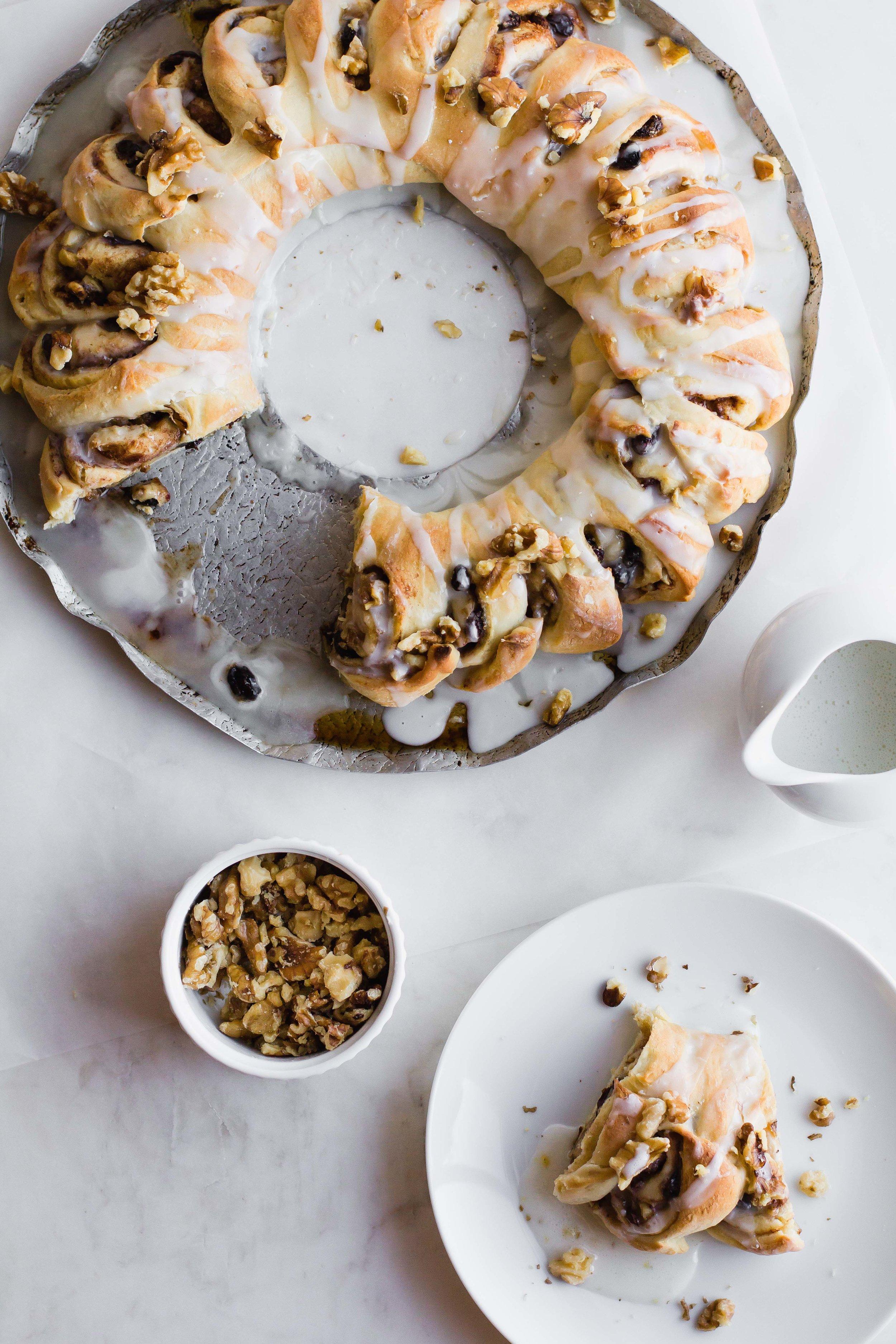 Swedish Tea Ring | Sarah J. Hauser