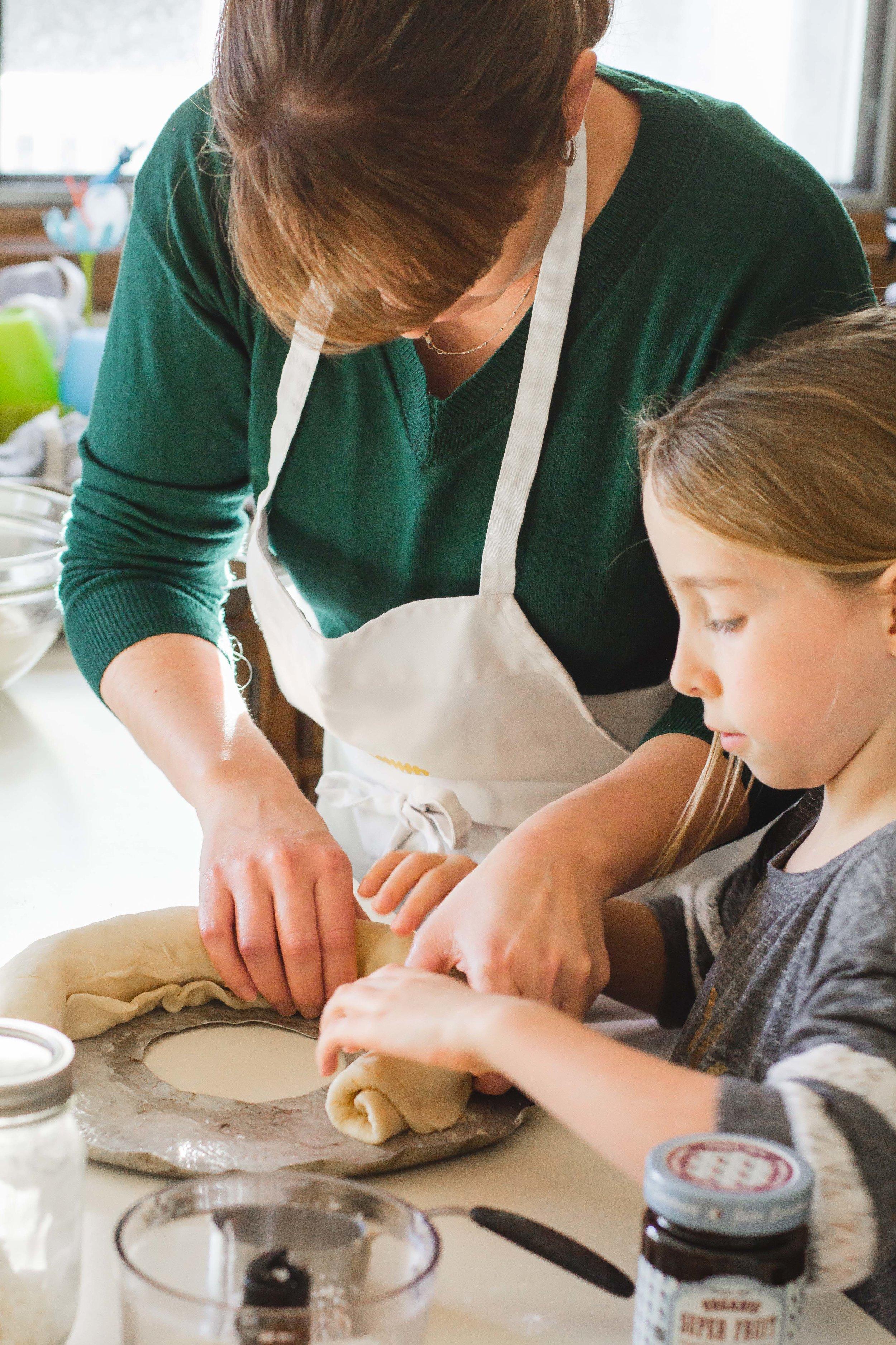 Swedish Tea Ring - Girls' Baking Day | Sarah J. Hauser-8.jpg