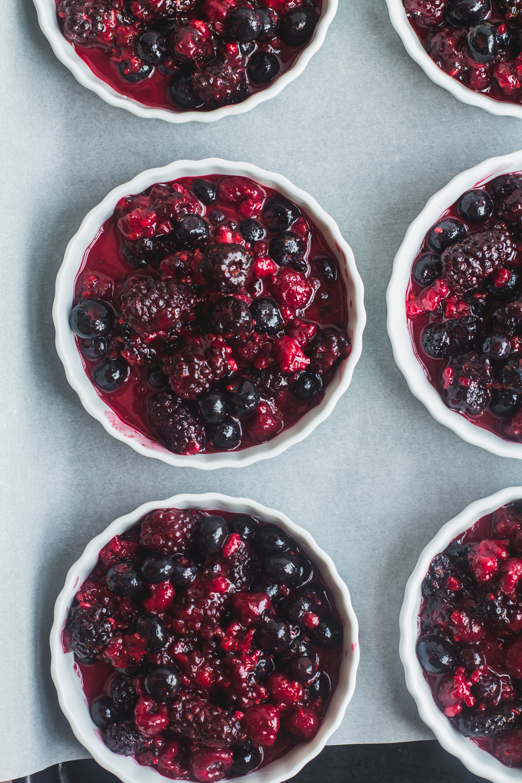 Tri-Berry Crumbles | Sarah J. Hauser