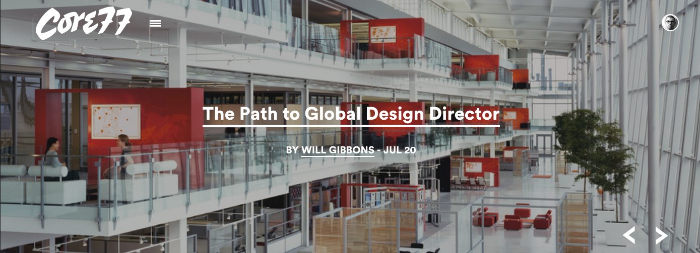 Core77-The-Path-to-Global-Design-Director
