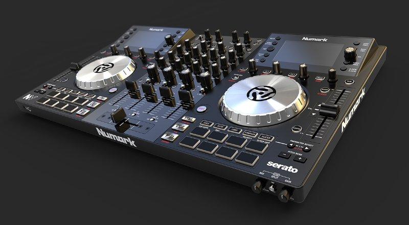 KeyShot Rendering Audio Equipment