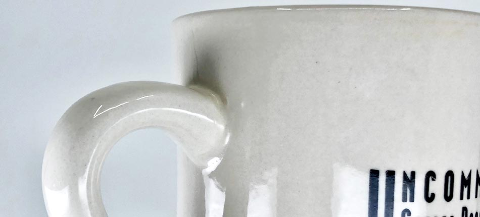 Bump Textures - Bump textures offer a rippled detail in this coffee mug glazing. Details like this boost the realism of any rendering.