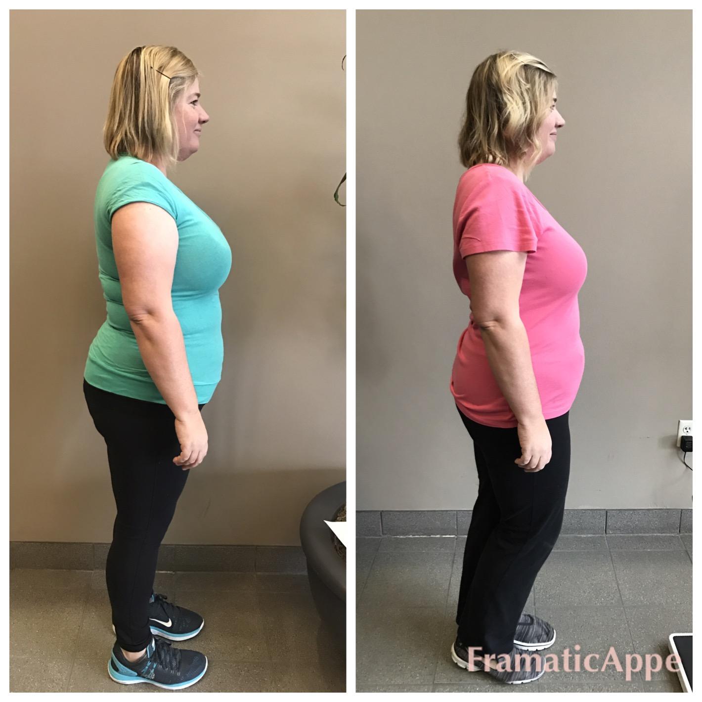 """20.4 lbs. & 17.5"""" in just 7 weeks!"""