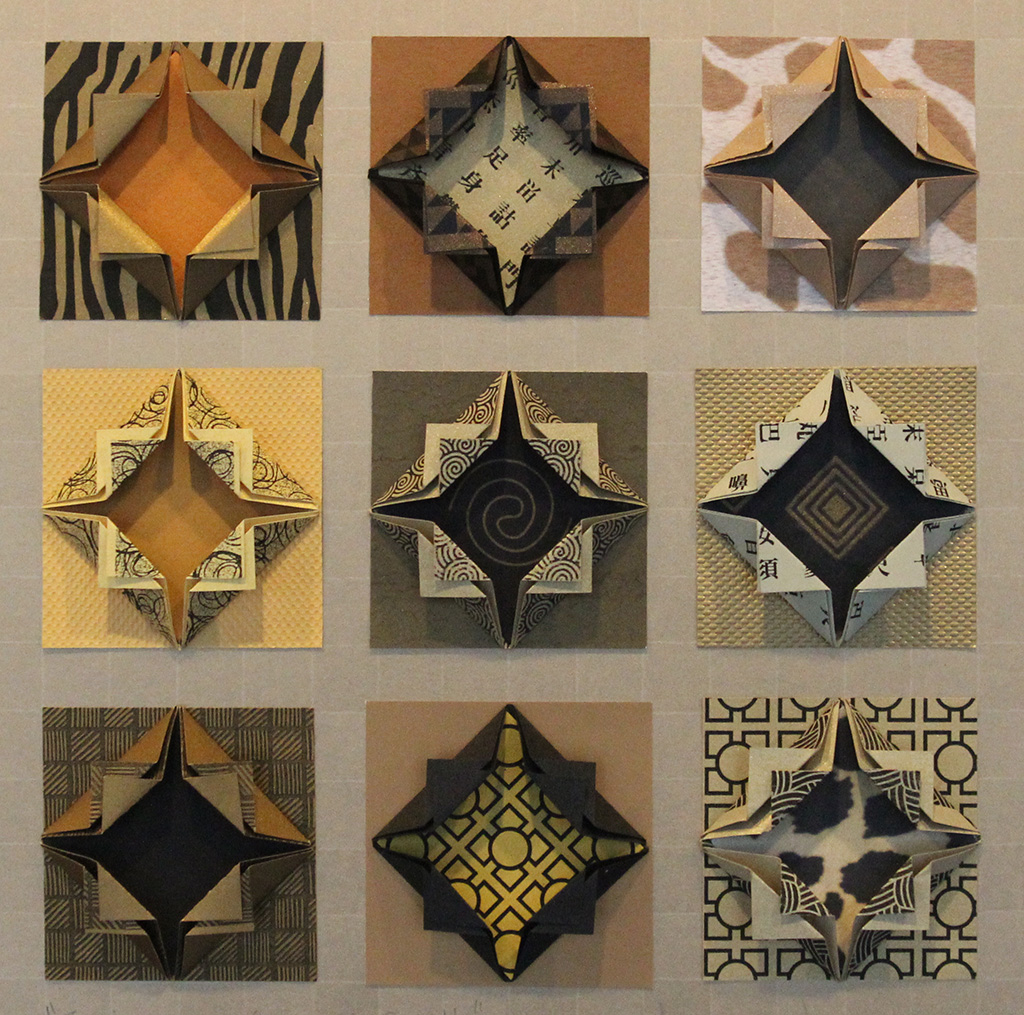 Candyce Anderson - Animeaux Origami Quilt