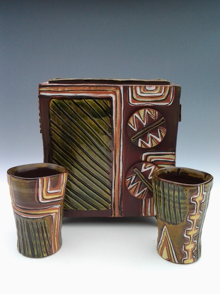 Robert Beishline - Radio Vase Set # 2