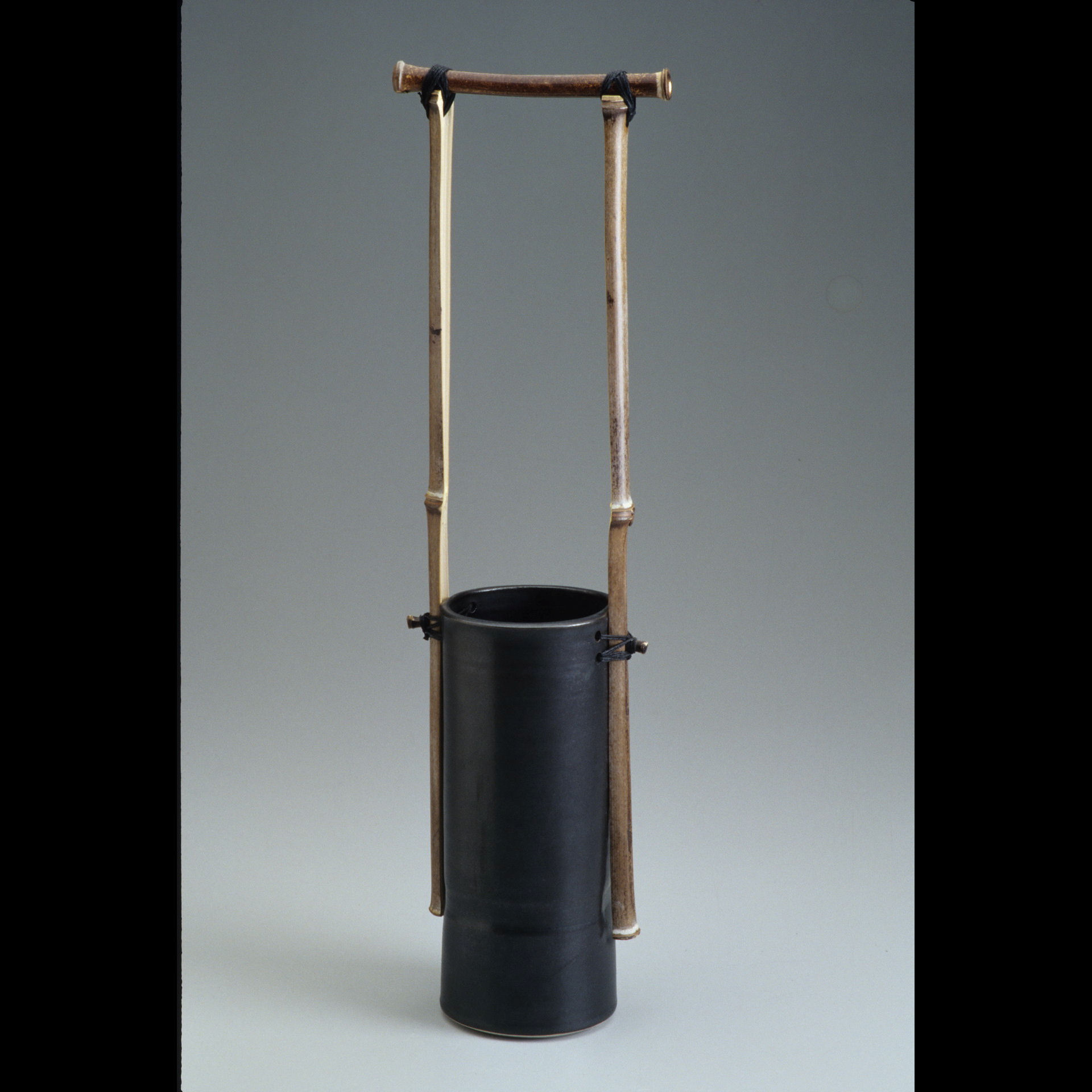 Paddy McNeely - Tall Bamboo Handled Jar
