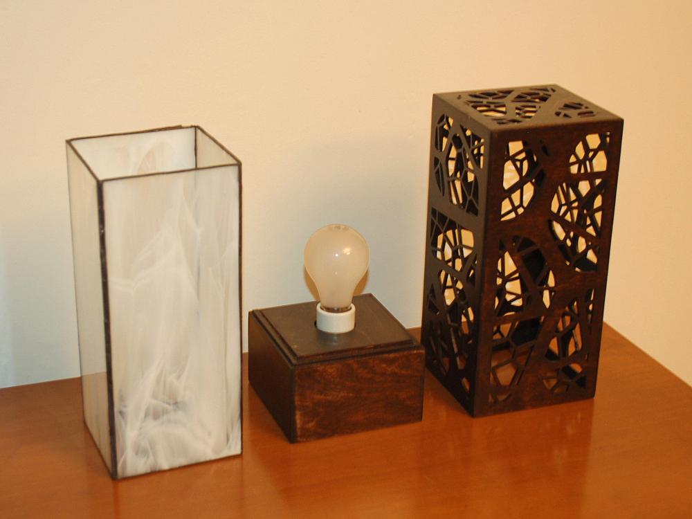 """Branch 1.0"" Lasercut Lamp by Foxworth Architecture PLLC"