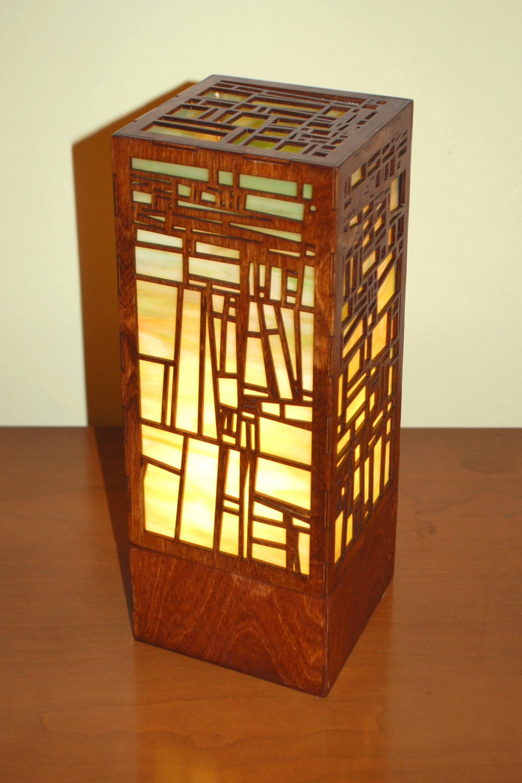 """Terra 1.0"" Lasercut Lamp by Foxworth Architecture PLLC"