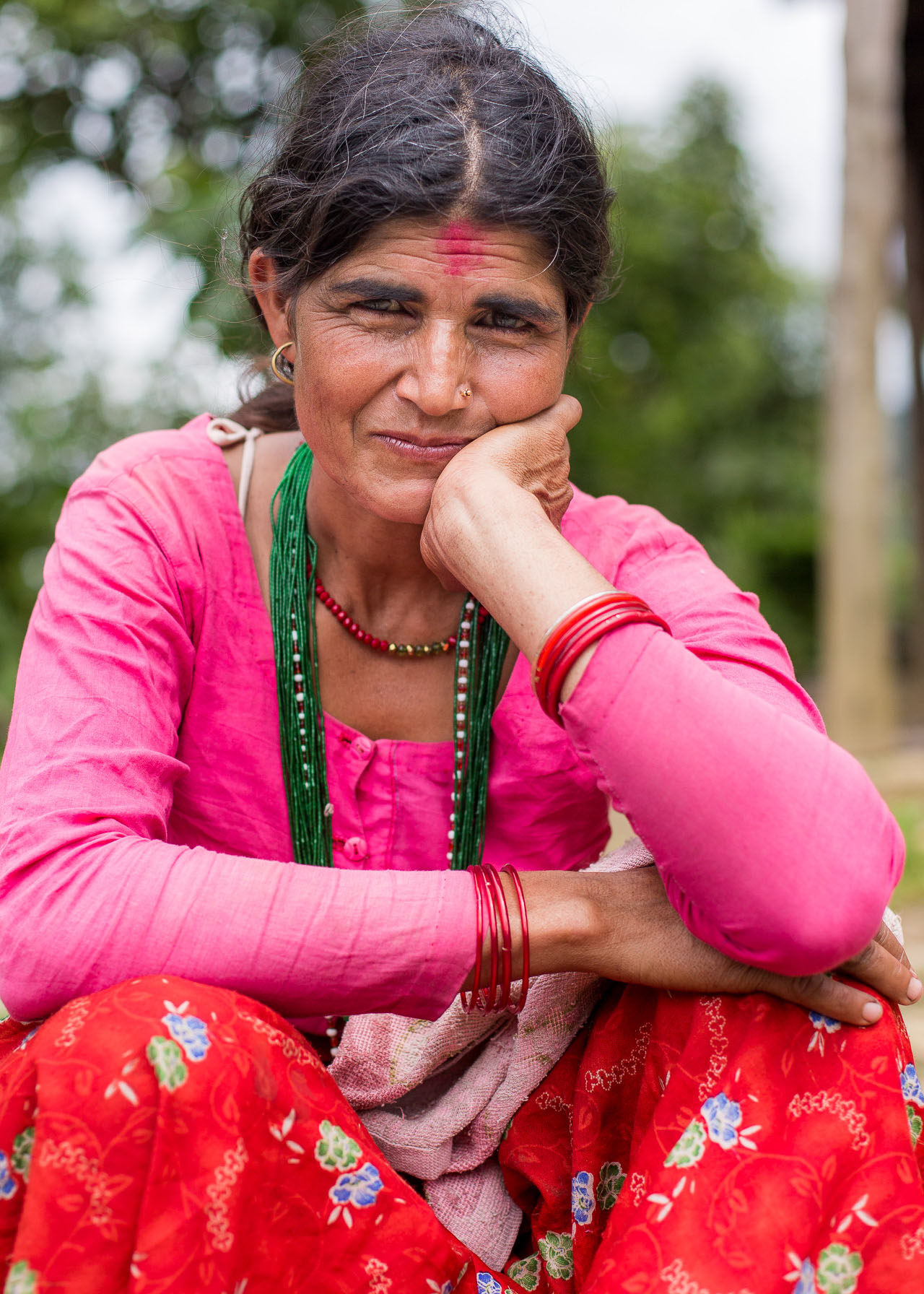 Rohit's mother in law.