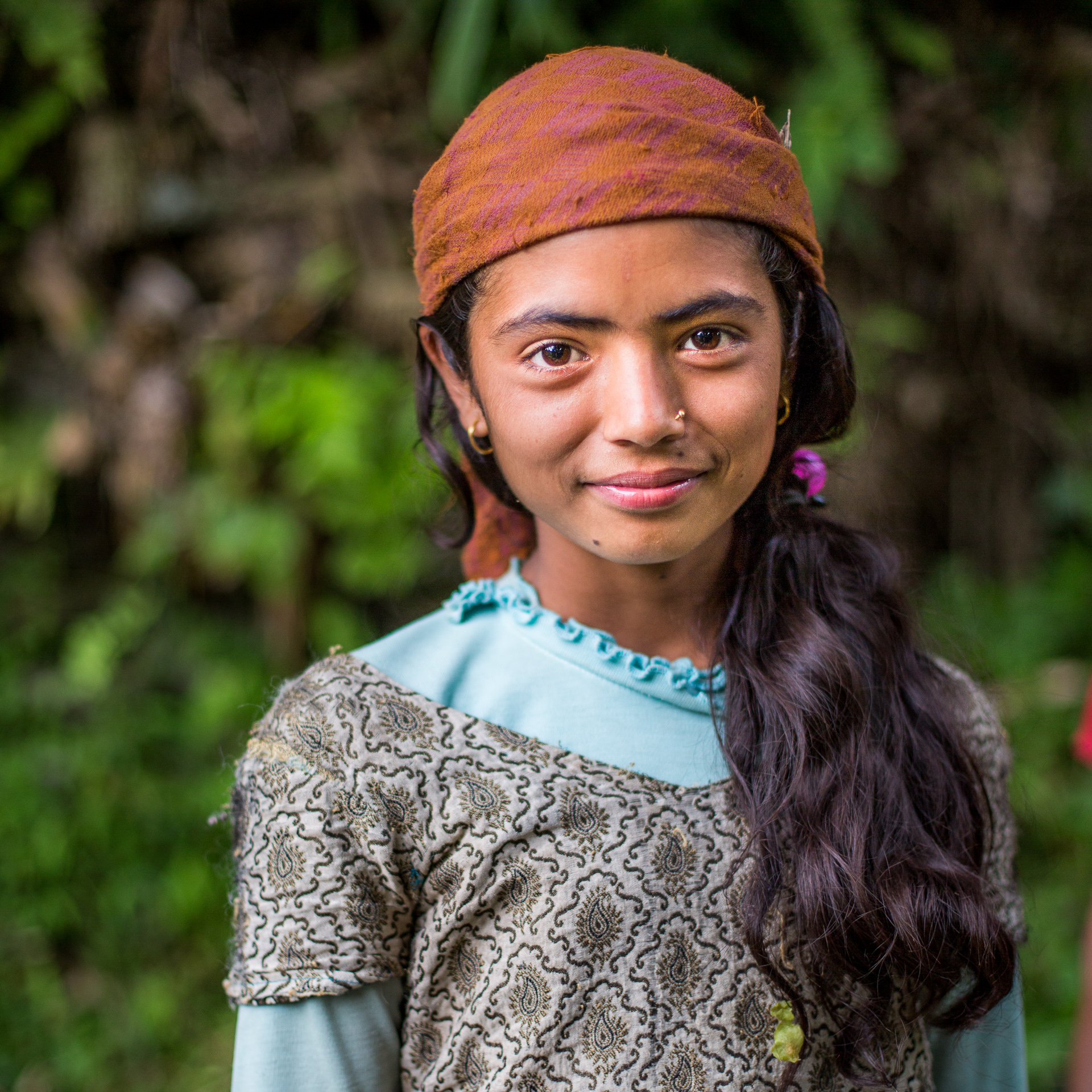 Children are excused from school to help their parents in this busy rice planting season.