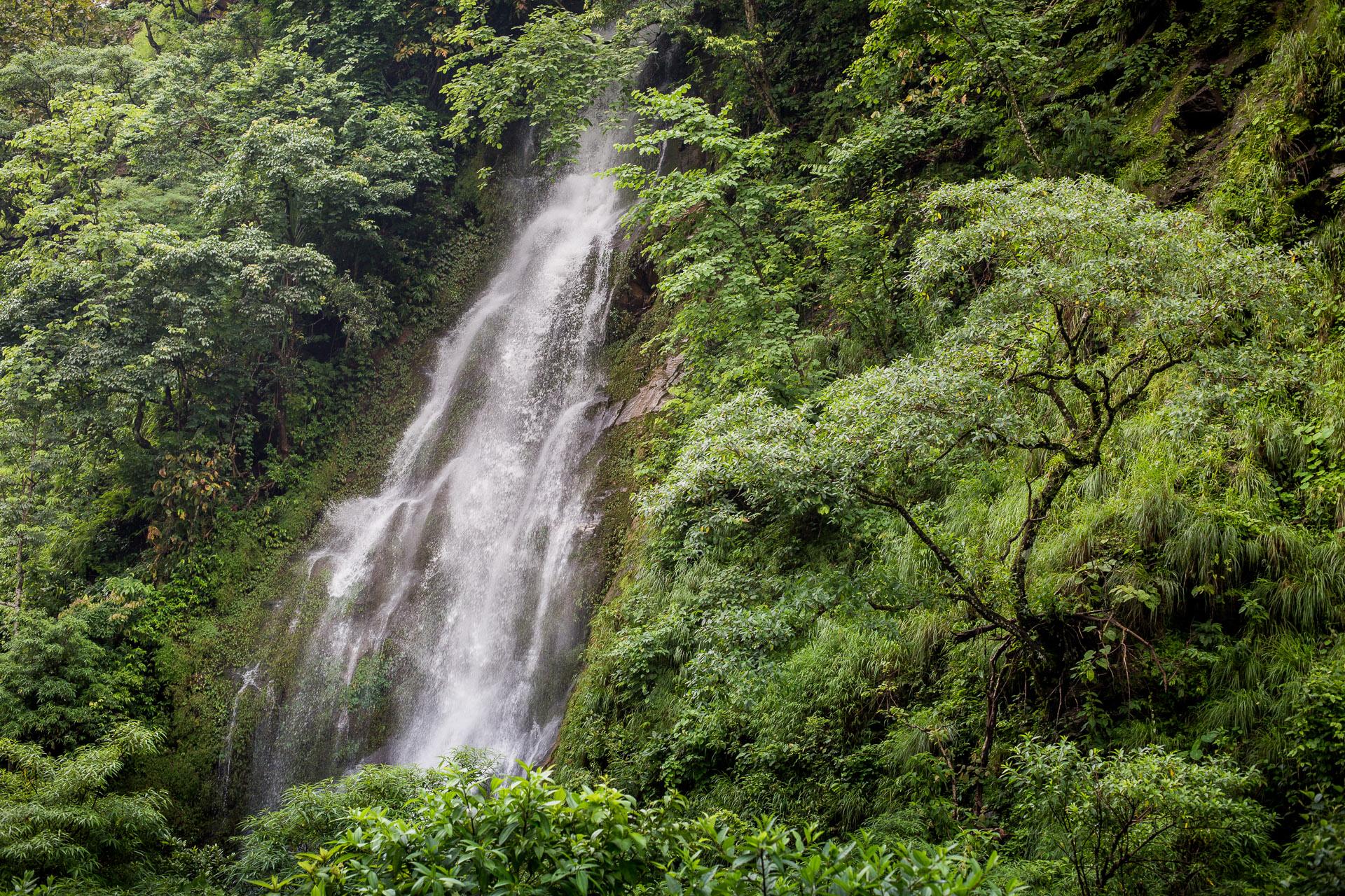 Waterfall on the way.