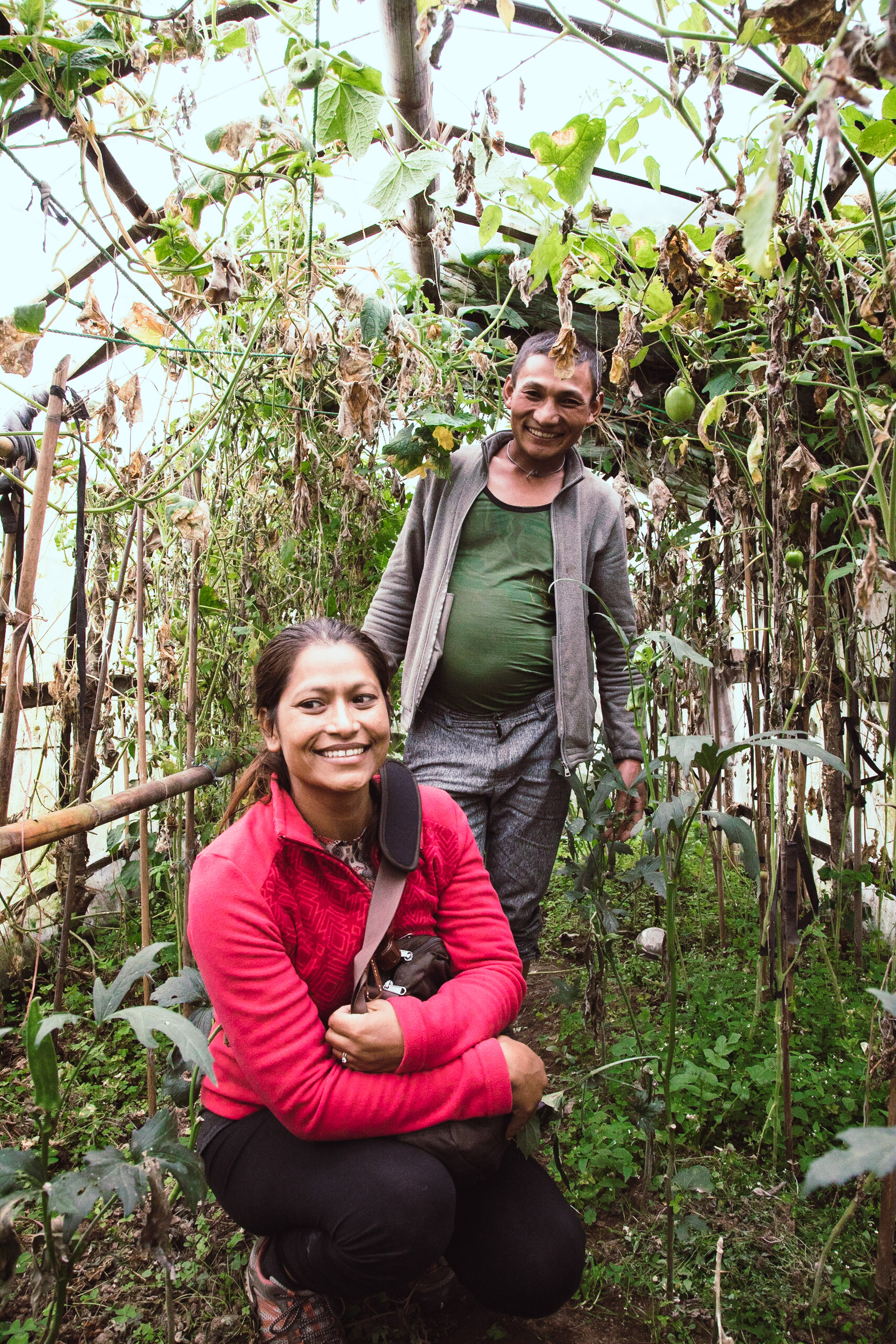 We are happy to se the great use of these greenhouse we supported 2 years earlier.