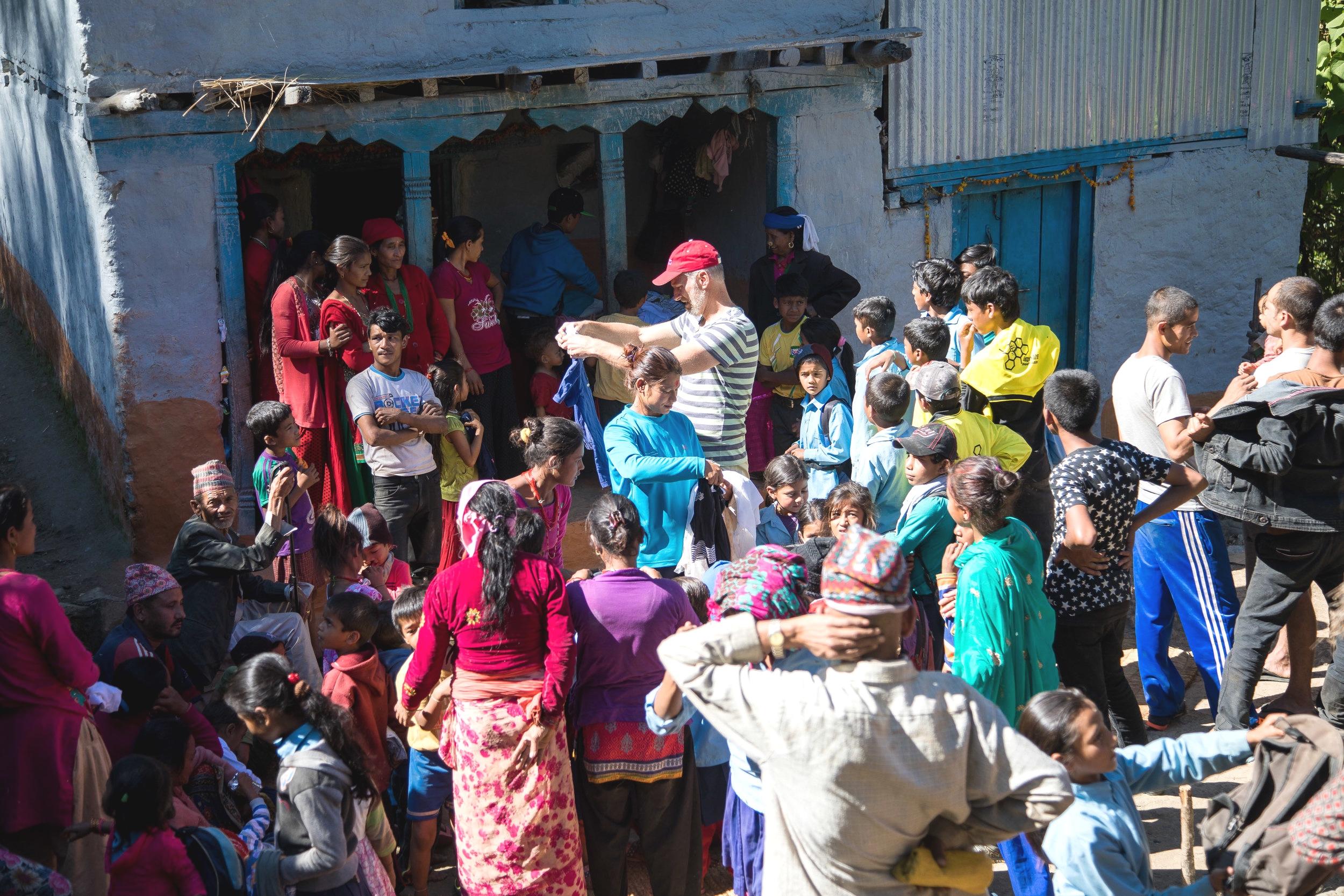 Kledingvoor Nepal -