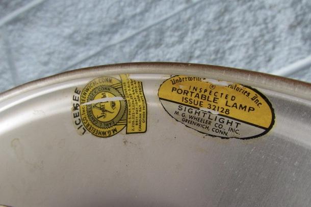 """M.G. Wheeler """"Sight Light"""" desk lamps cir. 1950s"""