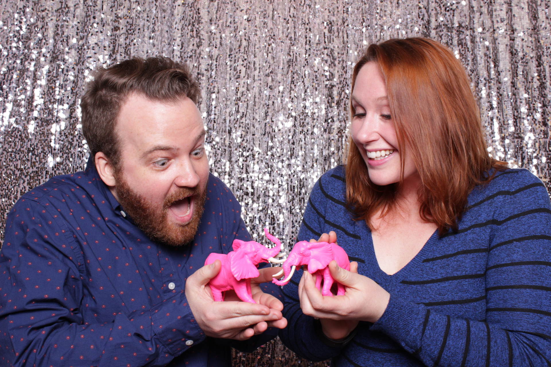HOT SILVER SEQUINS BACKDROP | HOT PINK PHOTO BOOTH | DC PHOTO BOOTH RENTAL