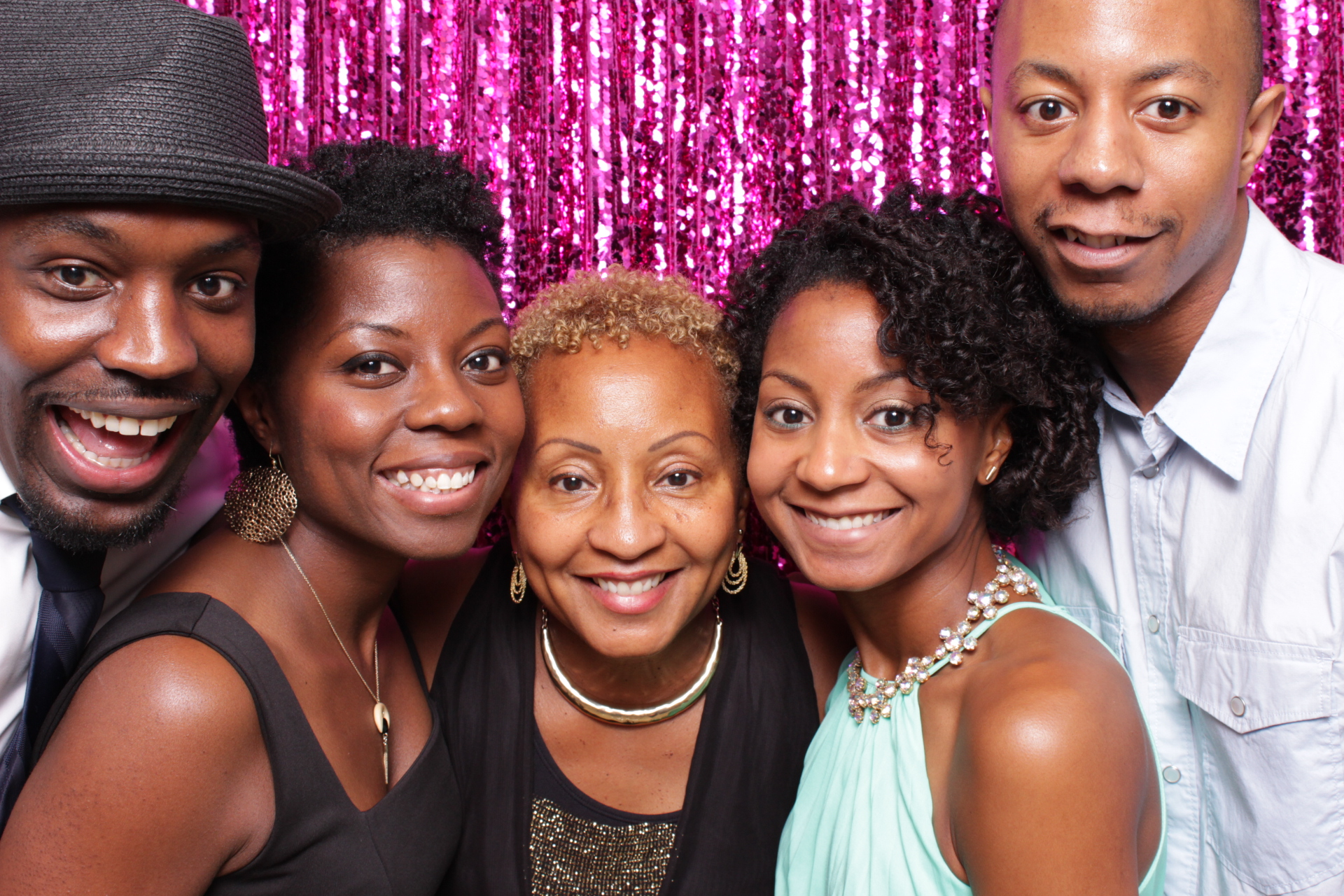 MYRA'S 60TH BIRTHDAY | HOT PINK PHOTO BOOTH