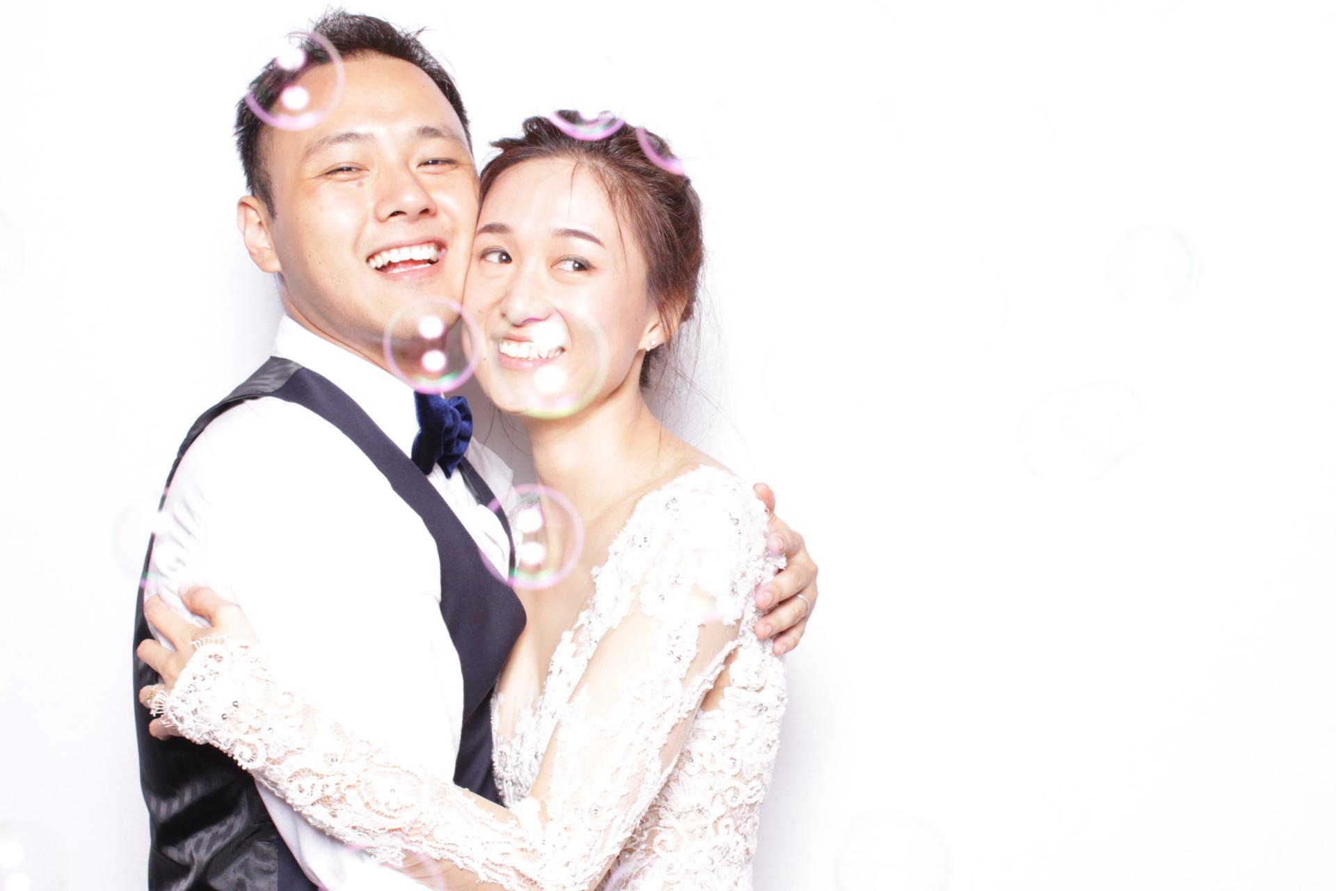 SILU + LEAF WEDDING | HOT PINK PHOTO BOOTH