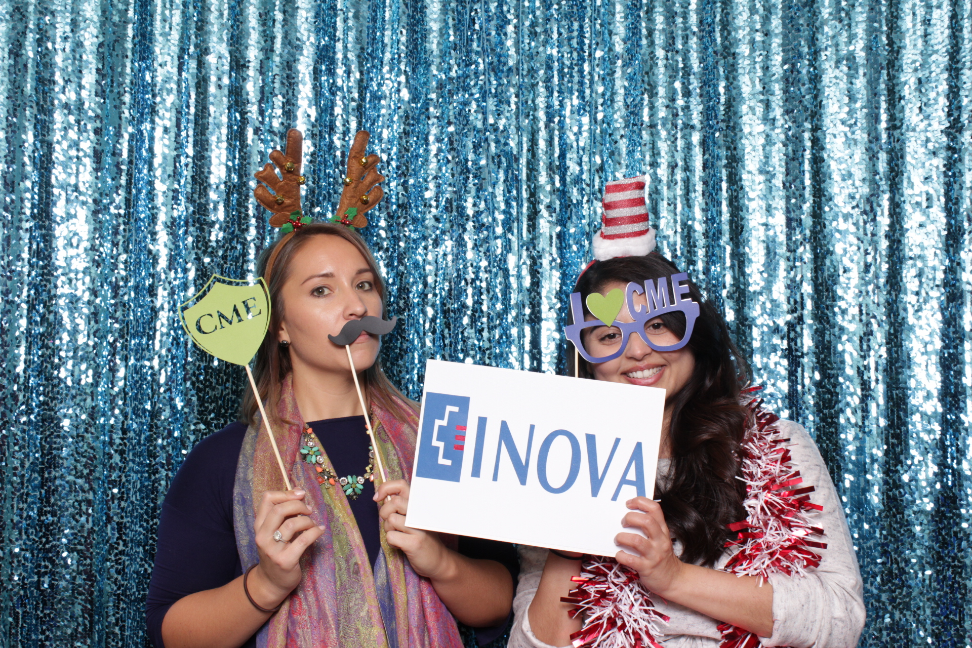 Inova CME Open House | Hot Pink Photo Booth | DC Photo Booth