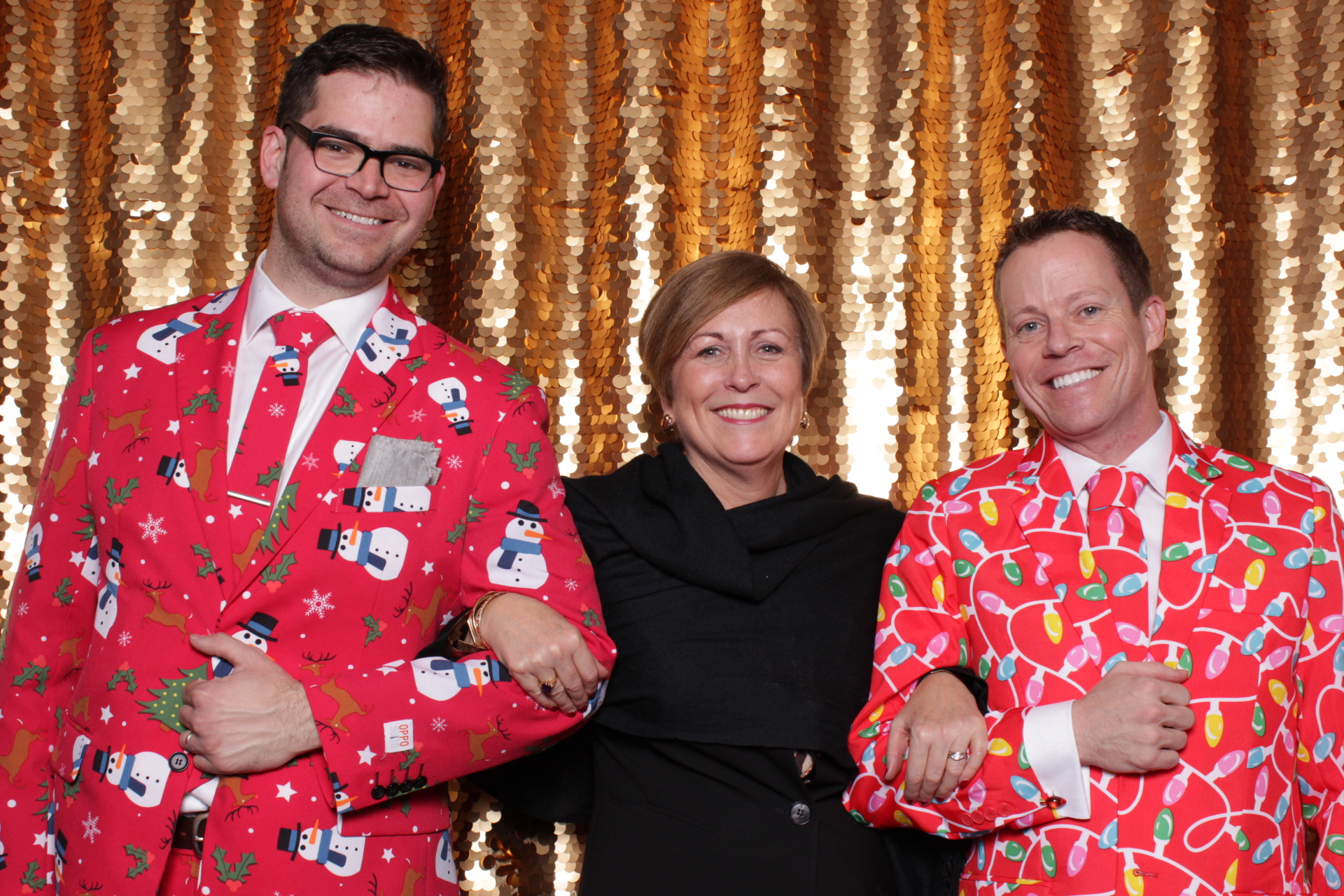 KENNEDY CENTER HOLIDAY PARTY | HOT PINK PHOTO BOOTH