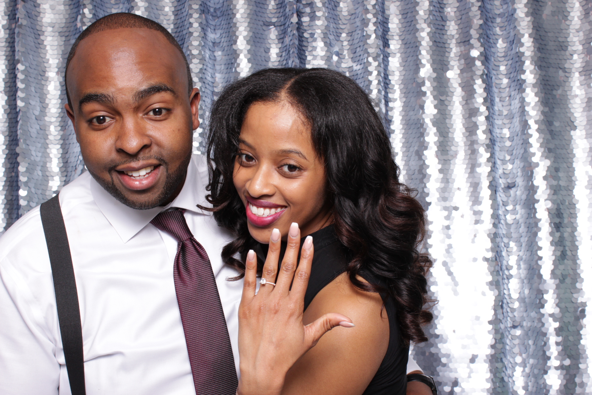 DEMETRIOUS + ALTHEA | HOT PINK PHOTO BOOTH