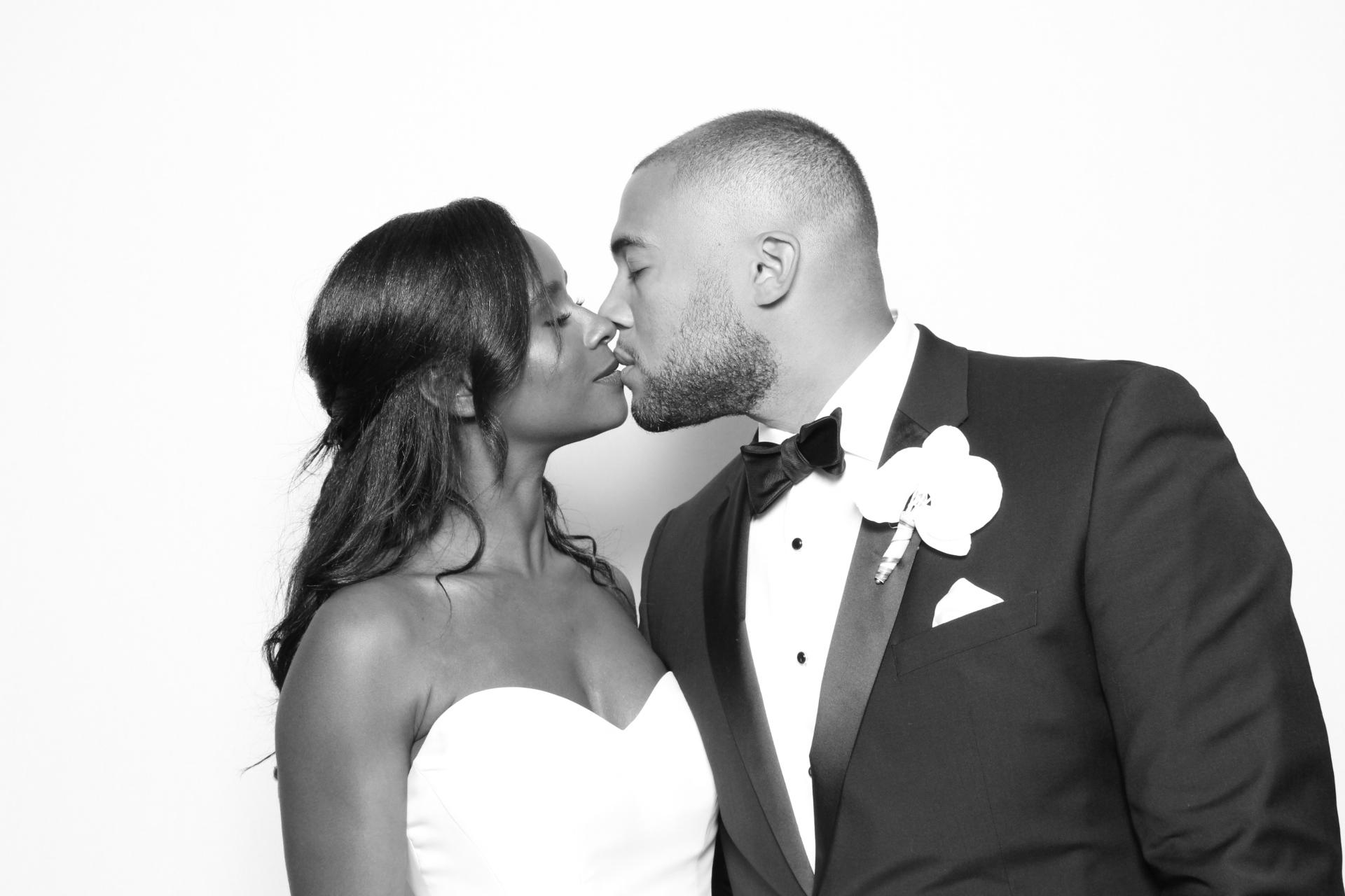 ALEX + PETE WEDDING | HOT PINK PHOTO BOOTH