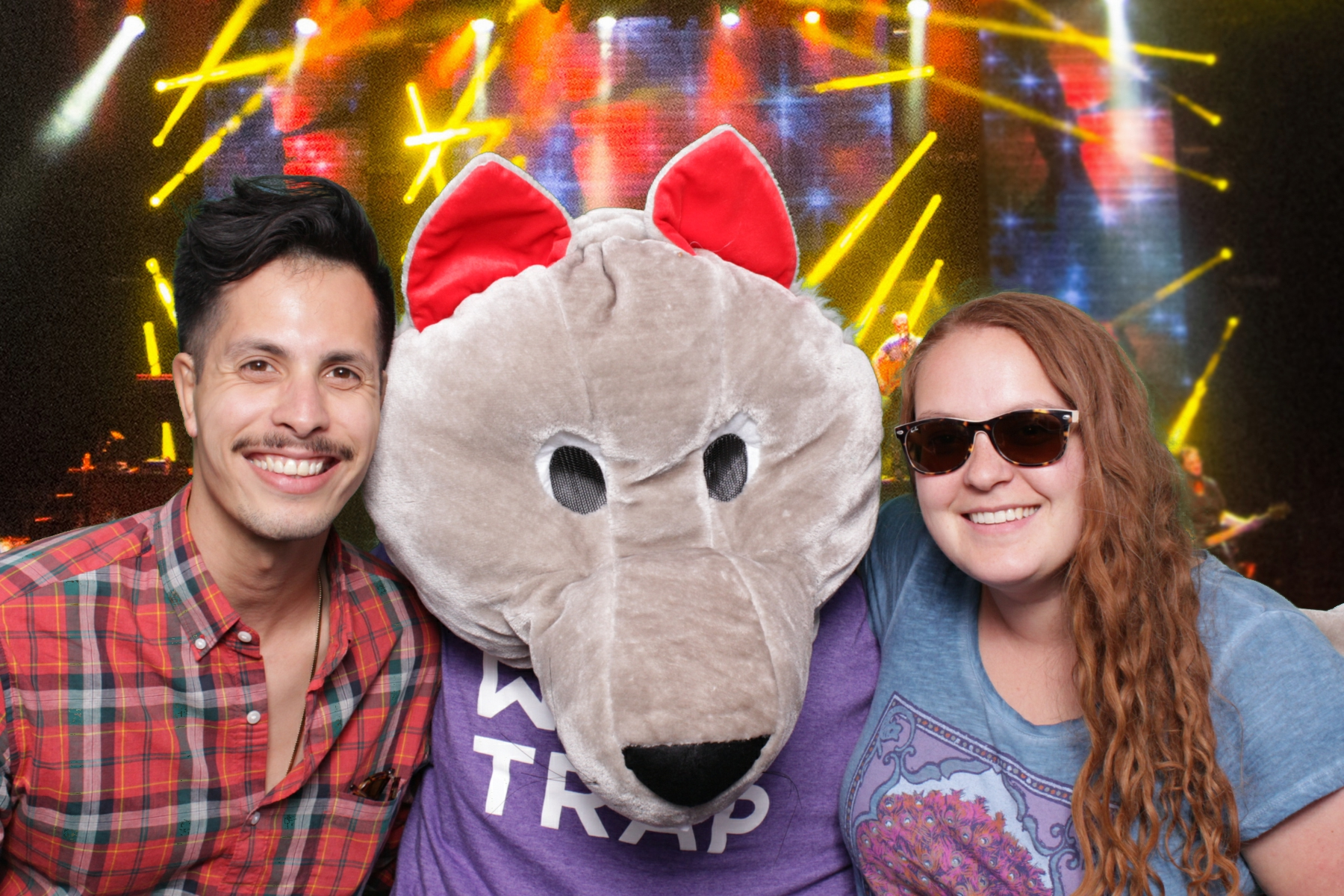 WOLF TRAP | KOOL AND THE GANG | HOT PINK PHOTO BOOTH