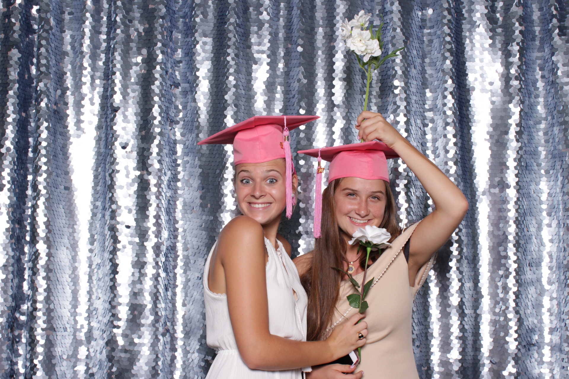 CAITLIN'S GRADUATION | HOT PINK PHOTO BOOTH