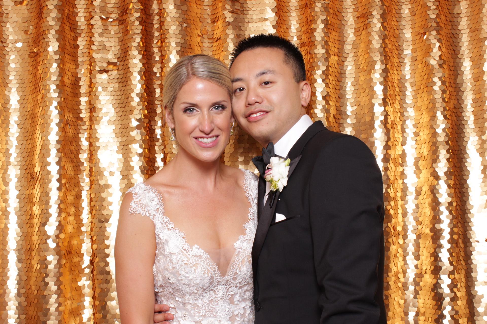 SARA + KEVIN WEDDING | HOT PINK PHOTO BOOTH