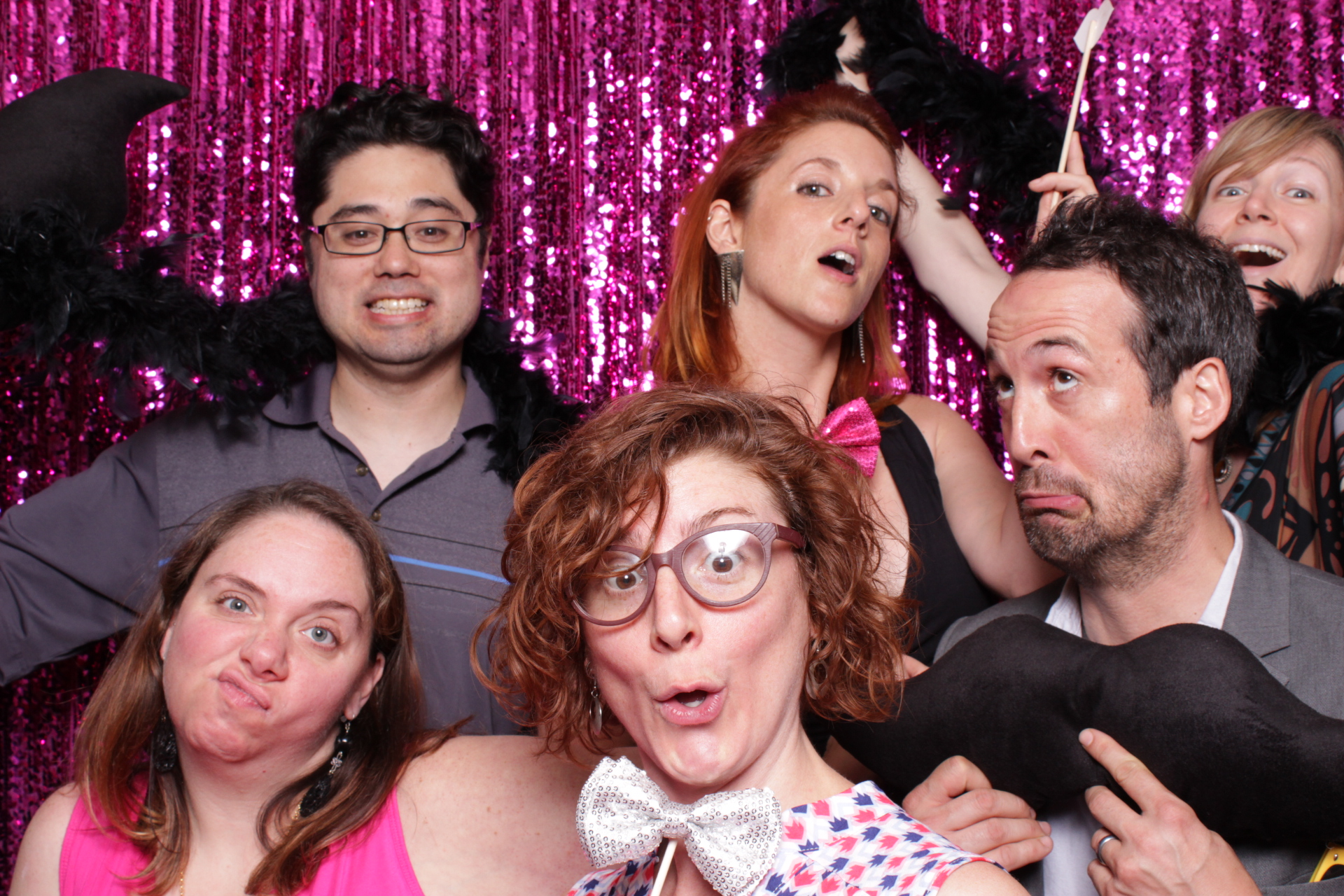 HEDWIG MYTIX PARTY | KENNEDY CENTER | HOT PINK PHOTO BOOTH