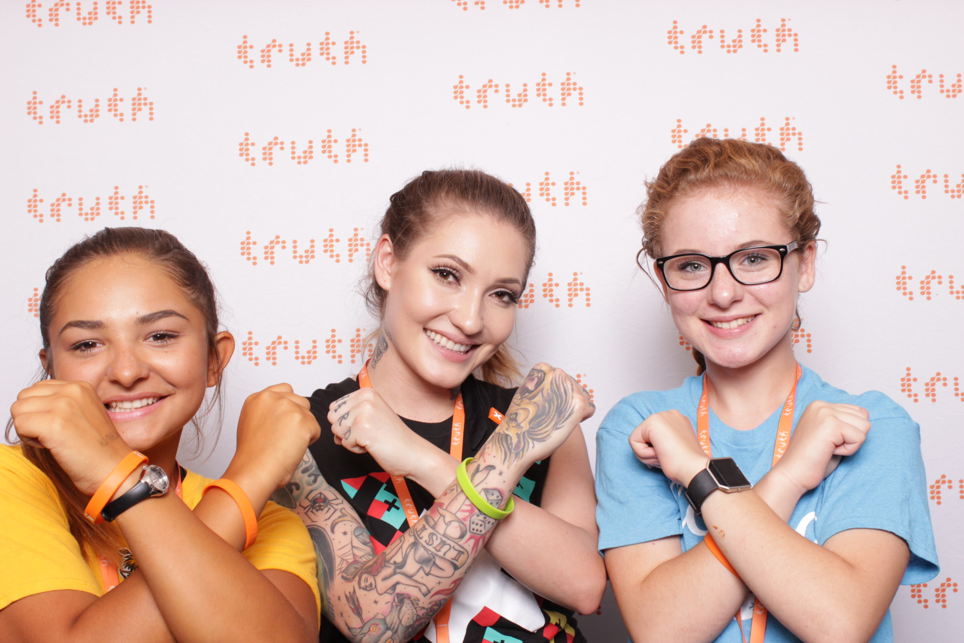 truth | hot pink photo booth | dc and san jose photo booth rental