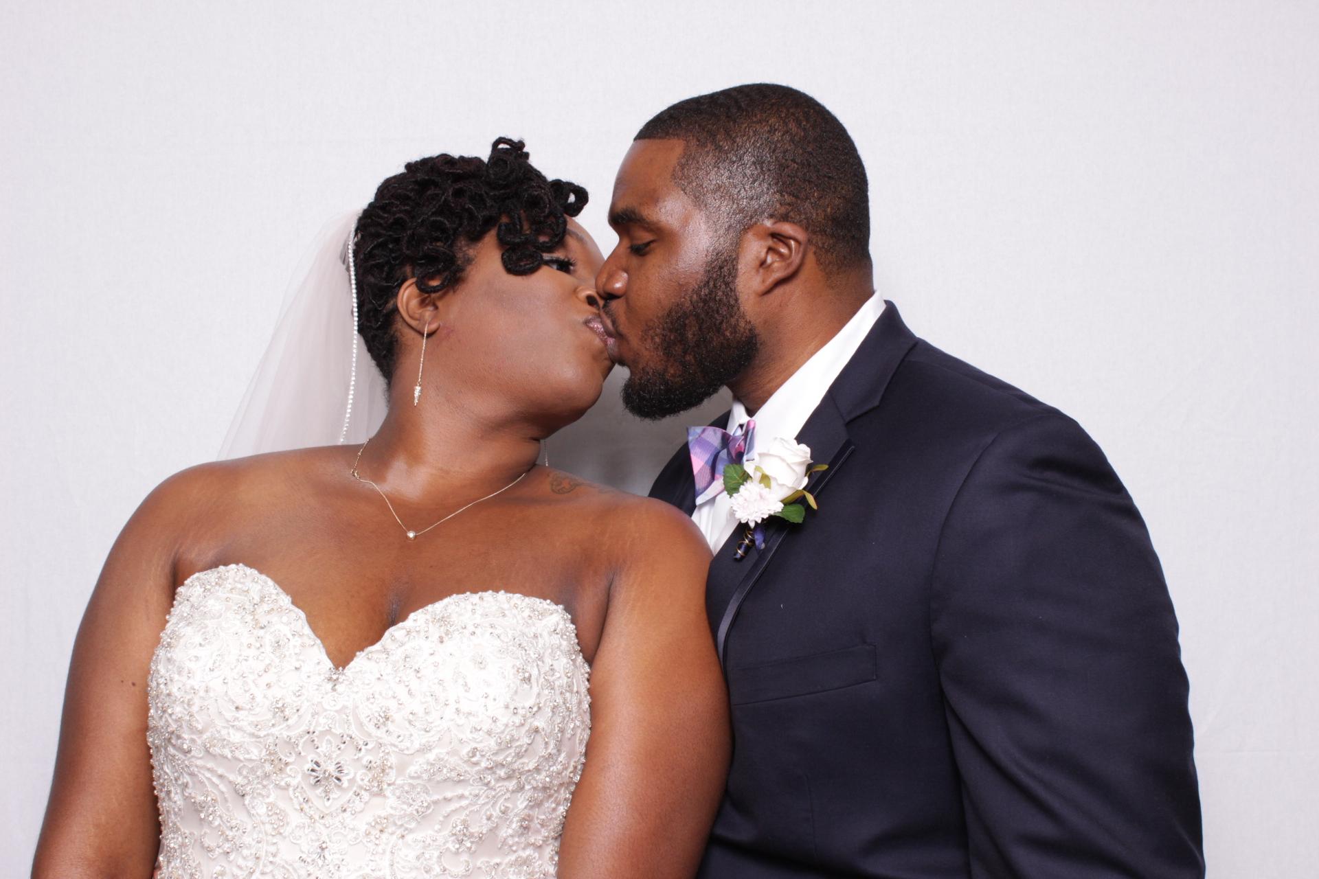 TASHAYLA + HAMEED WEDDING | HOT PINK PHOTO BOOTH