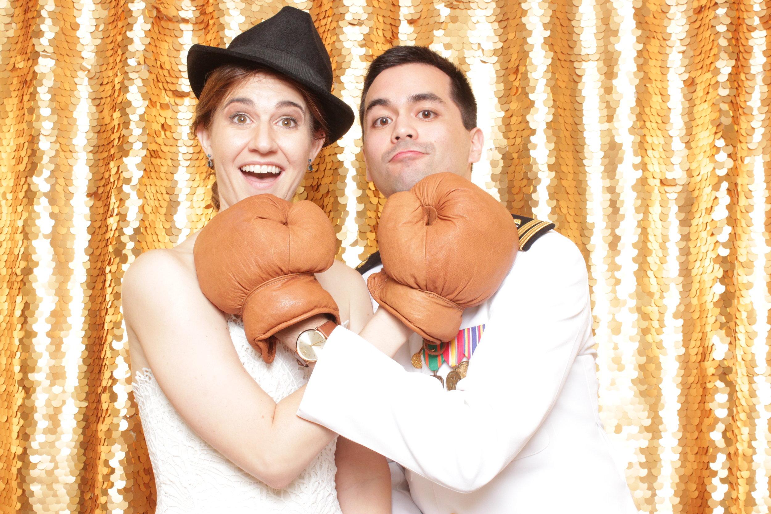 TOM + KRISTYN WEDDING | HOT PINK PHOTO BOOTH