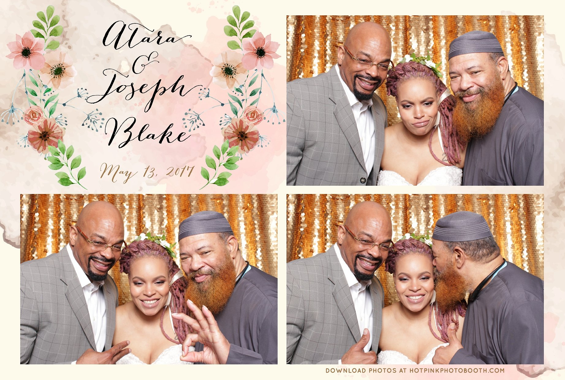 DC Wedding Photo Booth | Hot Pink Photo Booth
