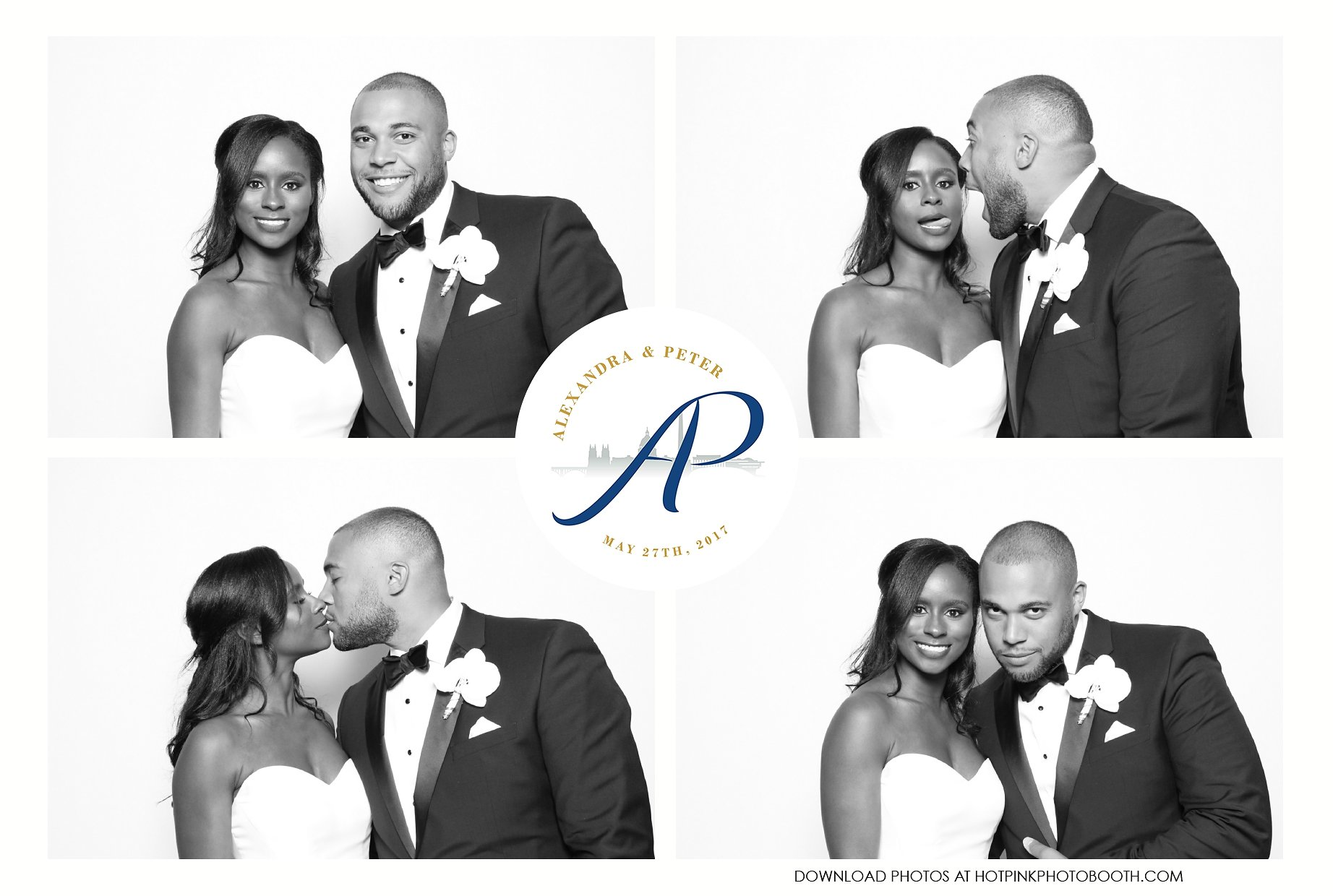 DC Wedding Photo Booth | Hot Pink Photo Booth | Newseum