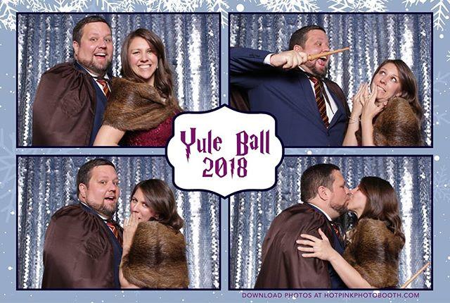 Yule Ball 2018! @districtmagnus #hotpinkphotobooth