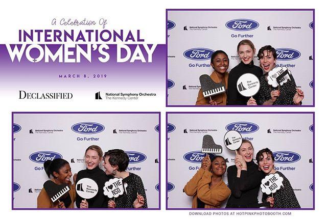 International Women's Day!!! #hotpinkphotobooth