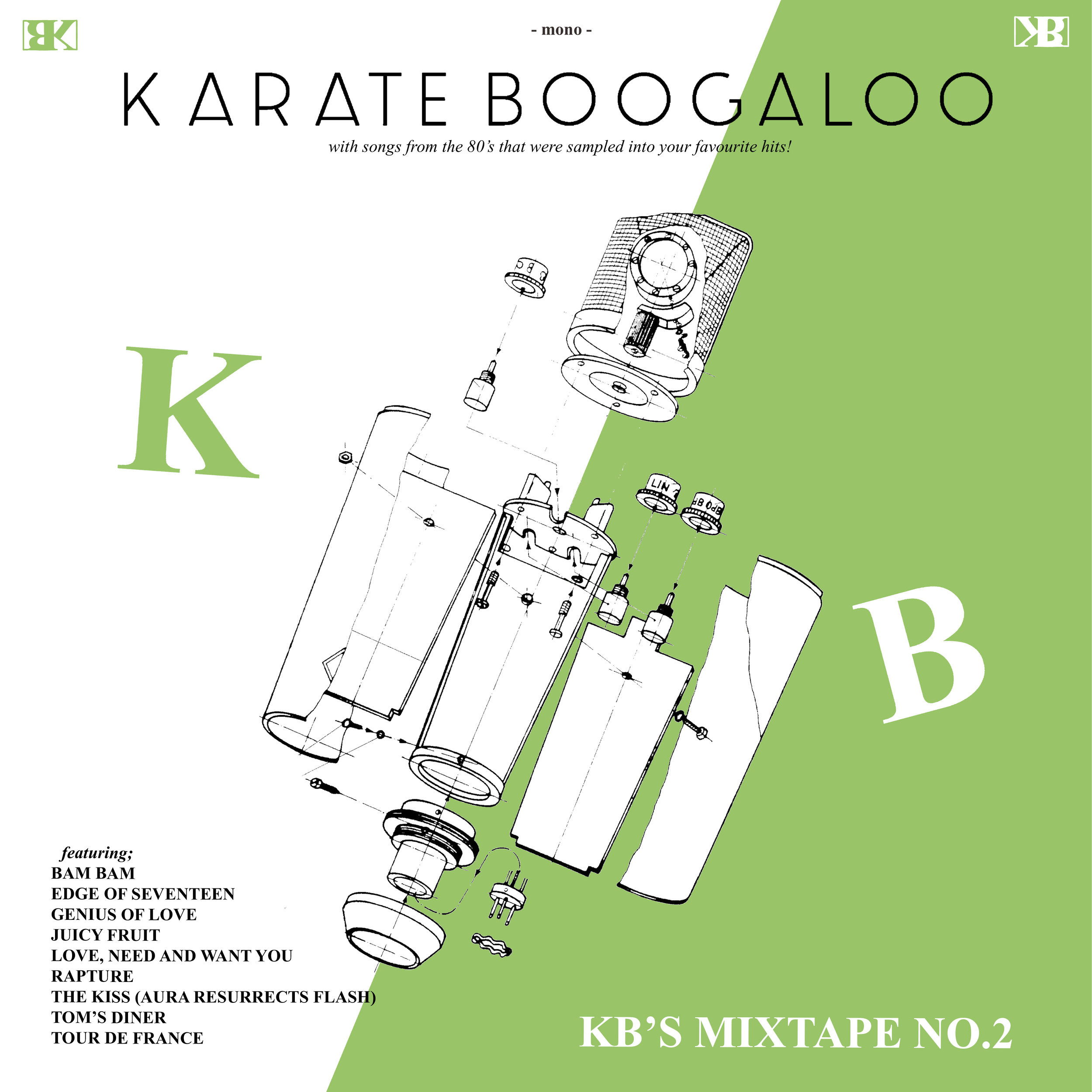 10 - Karate Boogaloo - KB's Mixtape No. 2 Square.jpg