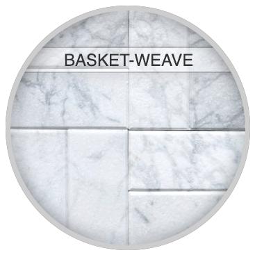 Basket-WeaveTile Pattern