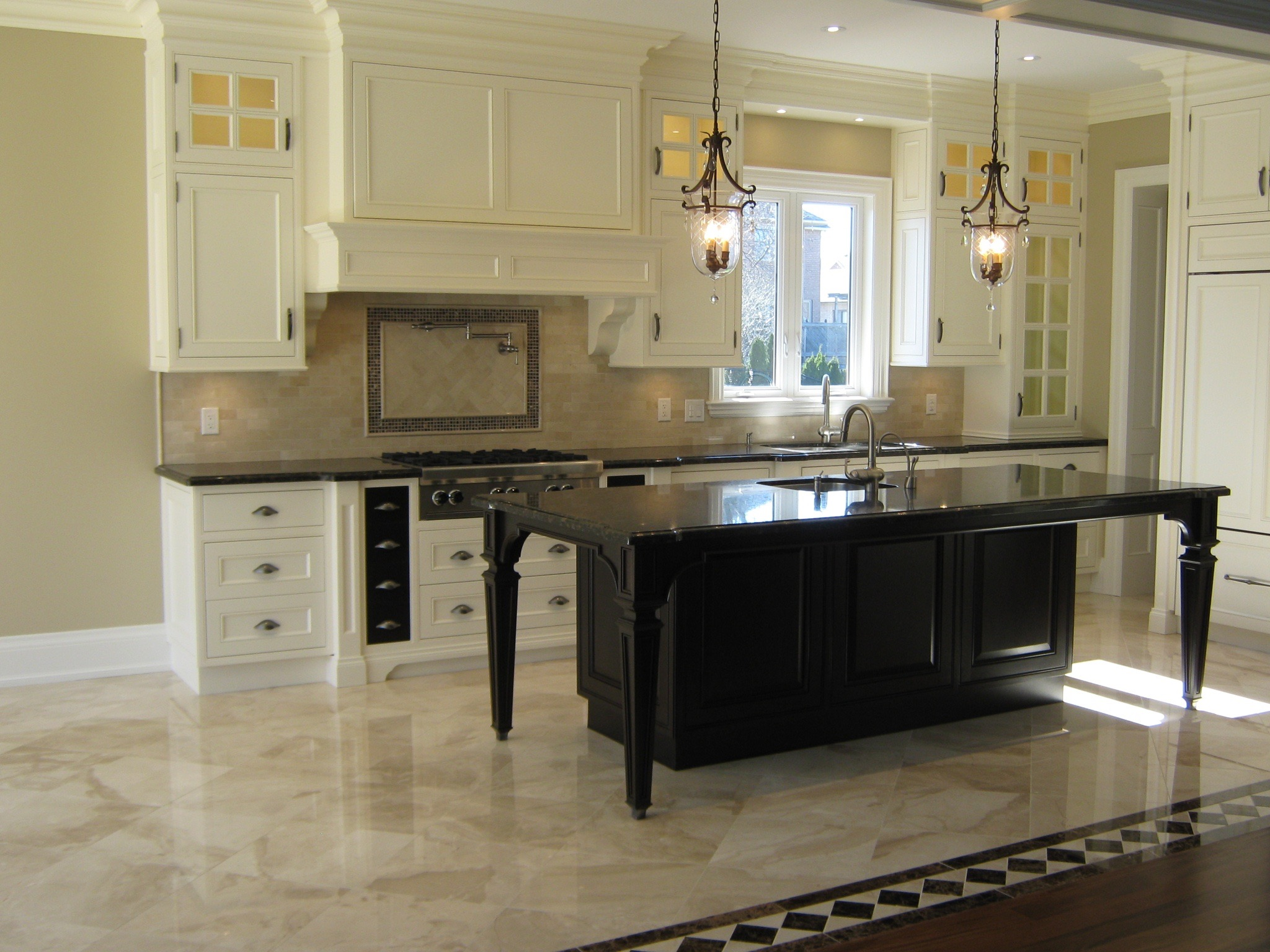 Kitchen Floor & Backsplash Done Right!