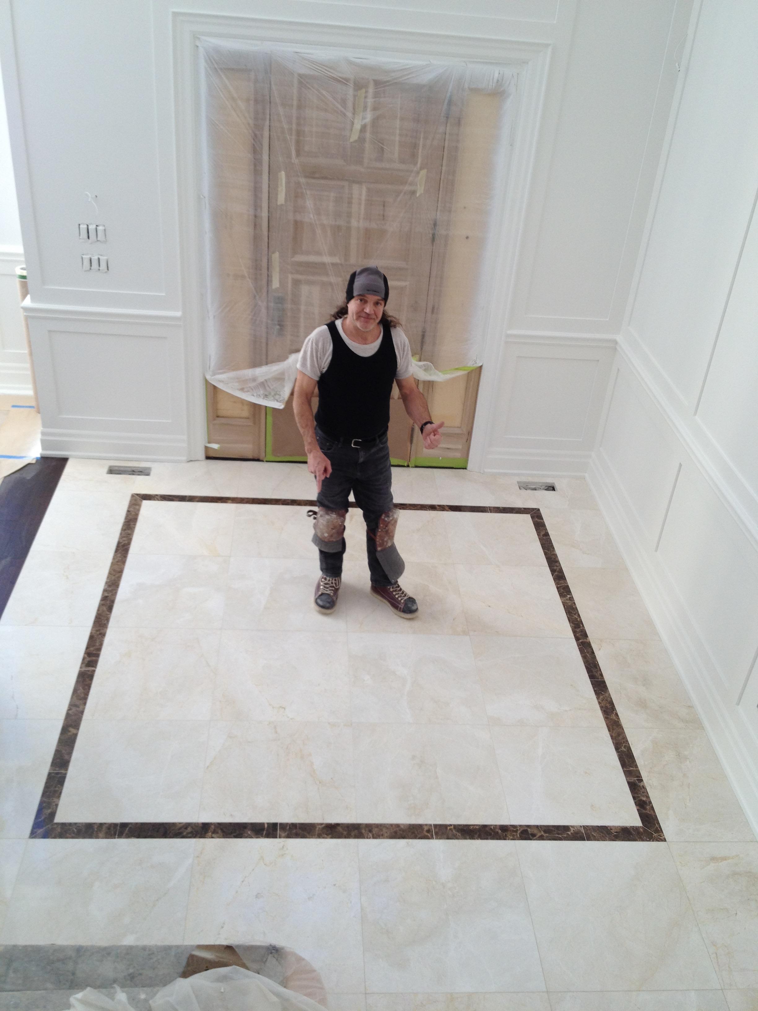 Aurora-tile-installation