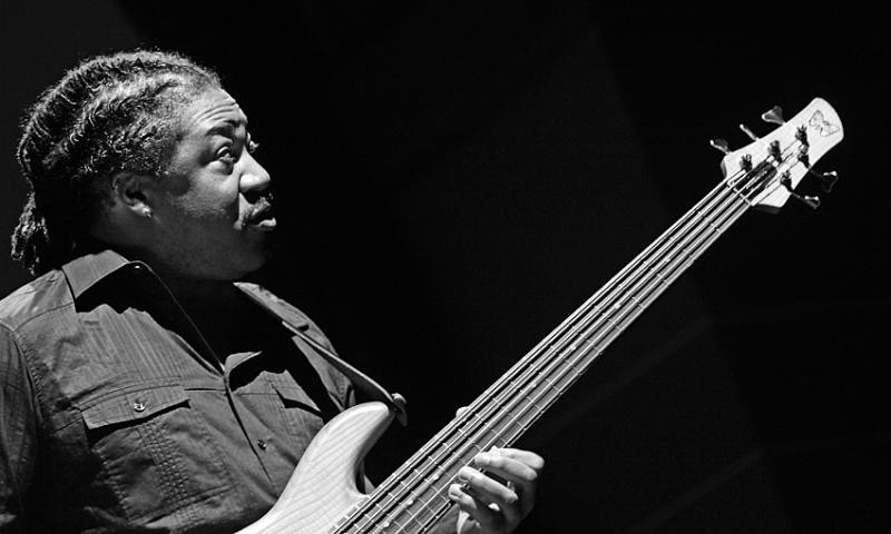 James Genus performing at Enjoy Jazz 2010 in Heidelberg, Germany Copyright © 2010 Christian Gaier.