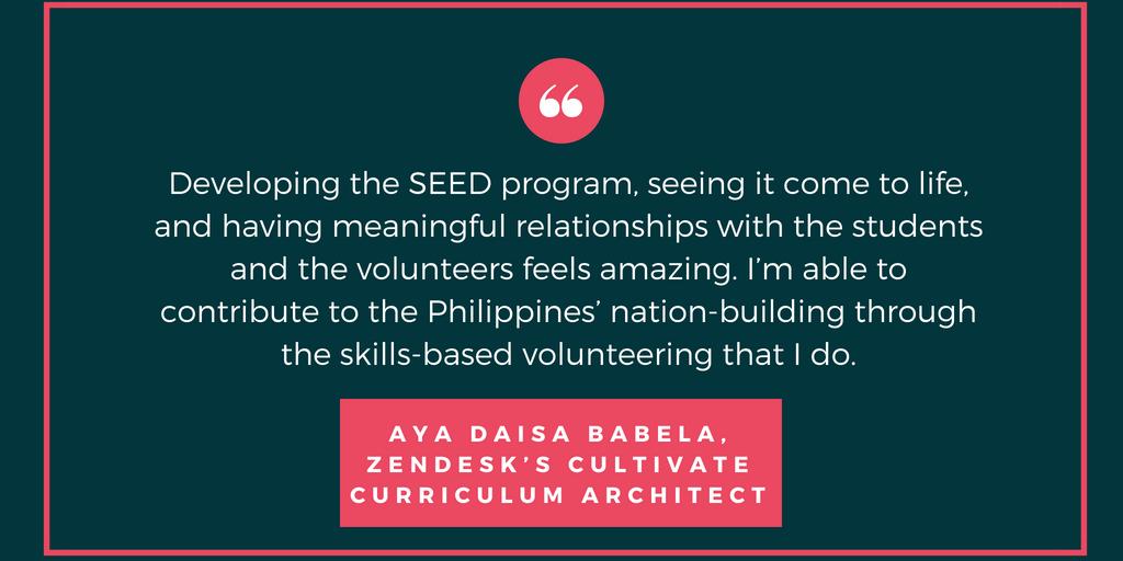 Aya Daisa Babela, Zendesk's Cultivate curriculum architect.png