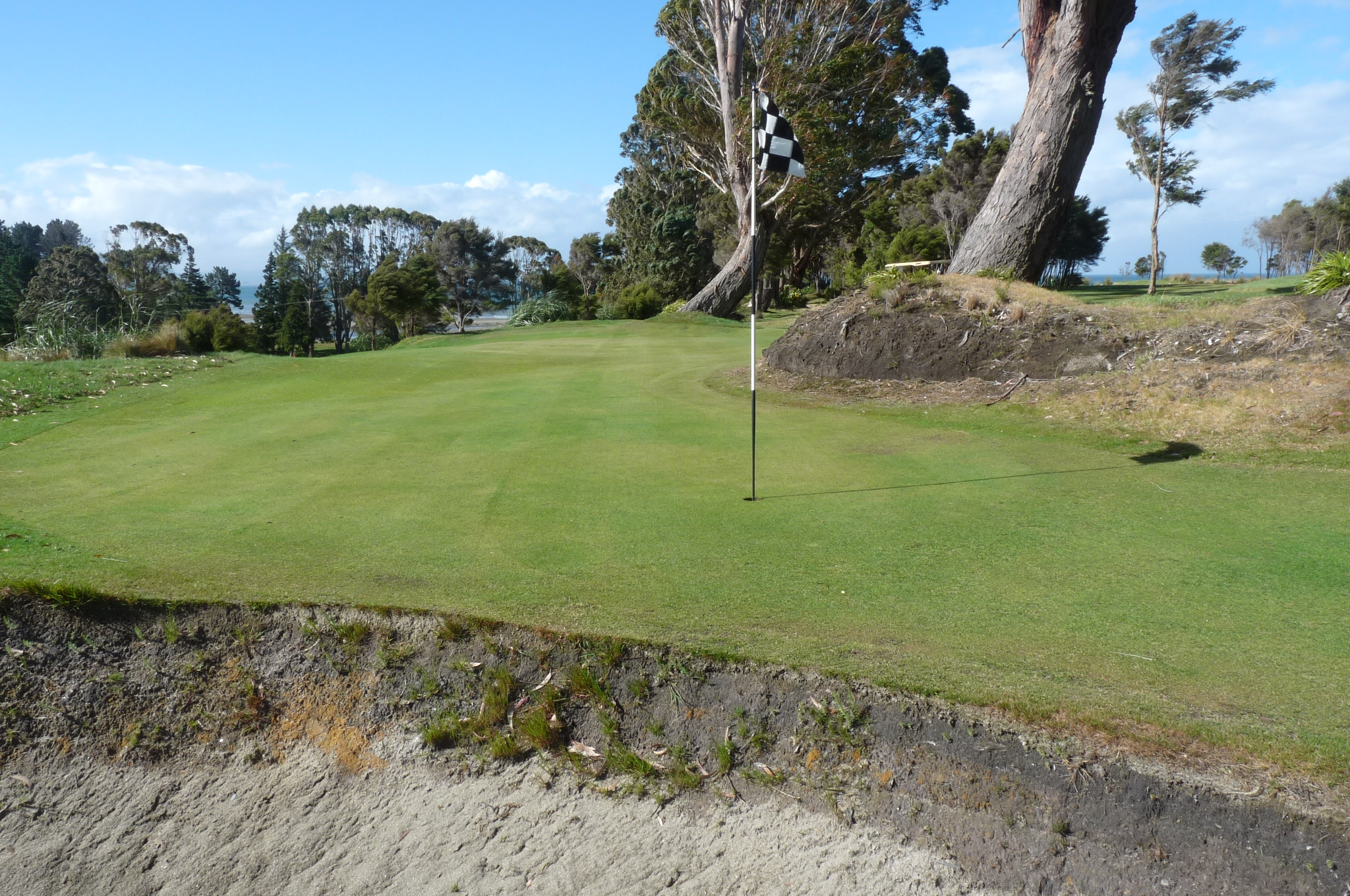 Typical tucked away pin position