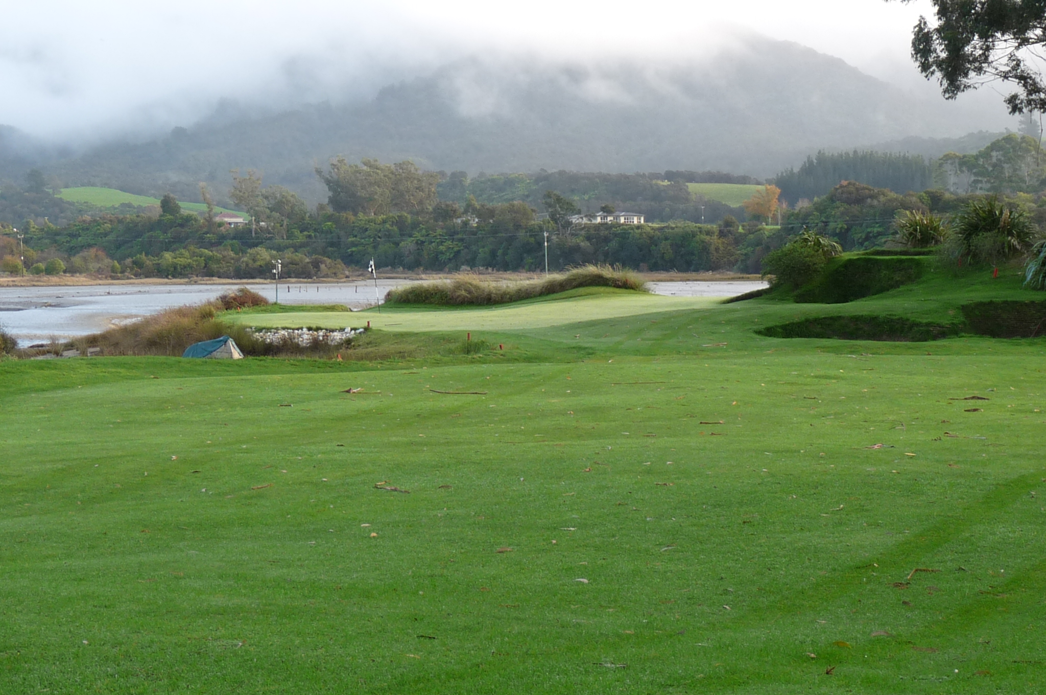 Green approach from 70 metres