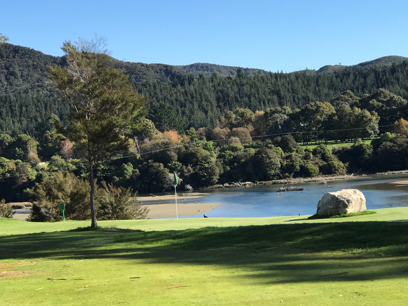 View from the left fairway