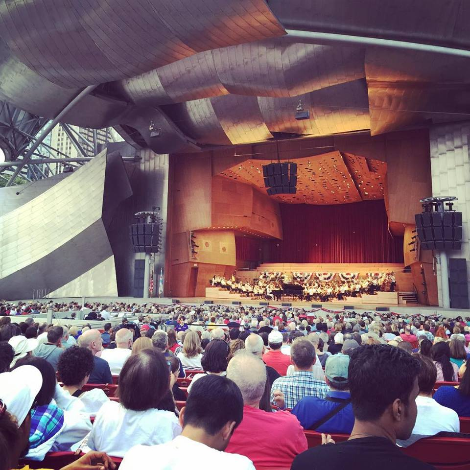 Pritzker Pavillion Chicago Symphony