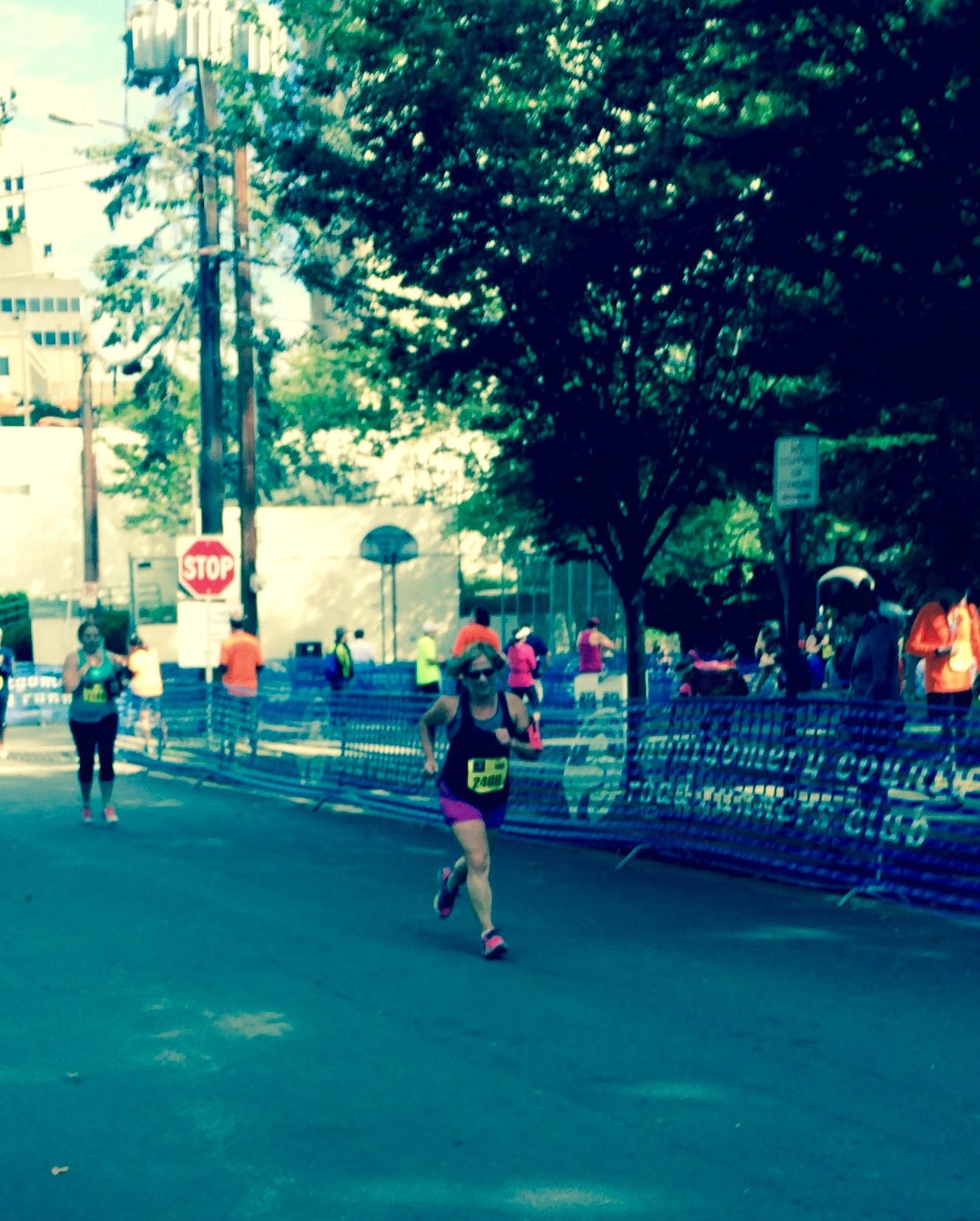 Really pushing hard at the finish!