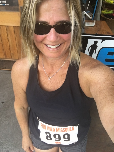 That's me - running wild in Missoula.