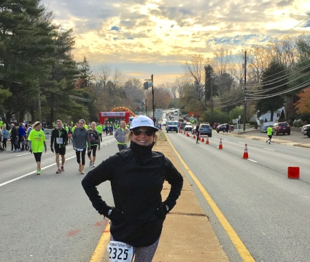 """It's a hill,"" I told myself as I ran all of the hills in the 2016 Turkey Chase in Bethesda. ""Get over it."""