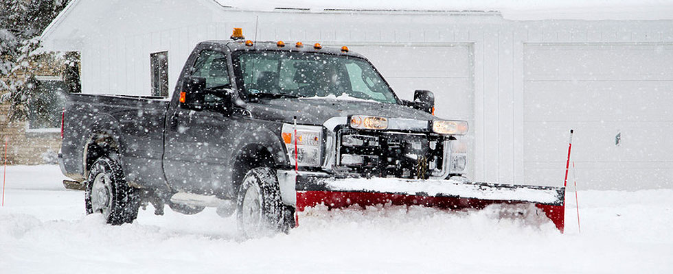 Snow removal equipment liek snow plouws for rent